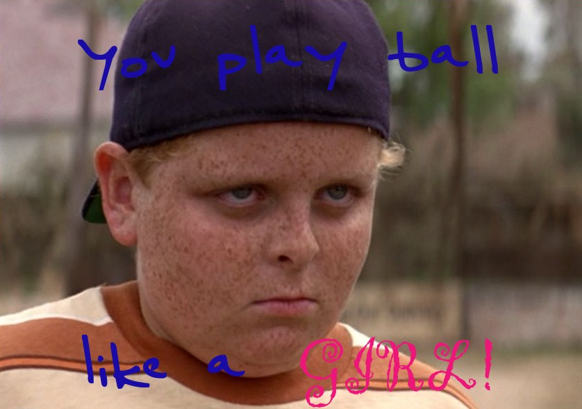 "From ""The Sandlot,"" quite"